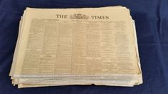 Online veilinghuis Catawiki: British Newspapers collection 1939-1945