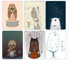 Plans Matter Blog - Time management & diary writing 2016: Bears Journaling Cards - Week 23