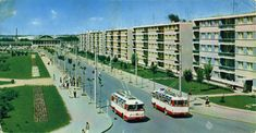 Constanta Romania, Concrete Architecture, Busses, Bucharest, Black Sea, Public Transport, Old Photos, Postcards, Abandoned