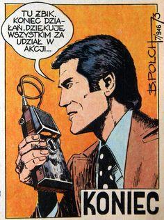 Spreadsheet from Capitan Żbik, photo: private archives Class Comics, Poland, Retro, Funny, Artwork, Artist, Movie Posters, Art Work, Work Of Art
