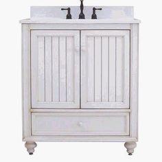 "$348 30 inches Sunny Wood BB3021D Bristol Beach 30"" Wood Vanity Cabinet Only, Burnished White Sunny Wood http://www.amazon.com/dp/B000LNSIBO/ref=cm_sw_r_pi_dp_dFDUub12Q8SD5"