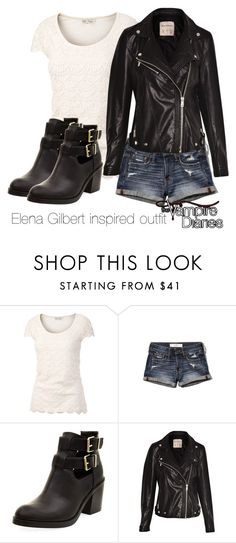 """Elena Gilbert inspired outfit/The Vampire Diaries"" by tvdsarahmichele ❤ liked on Polyvore featuring Fat Face, Abercrombie & Fitch and Pull&Bear"
