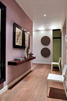 mur rose peint en Cinder Rose No.246 de Farrow and Ball