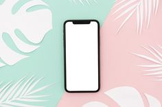 Top view smartphone template over workspace Free Photo Youtube Banner Template, Youtube Banners, Turquesa E Coral, Youtube Banner Backgrounds, Youtube Design, Intro Youtube, Anime Gifts, Instagram Frame, Canal No Youtube