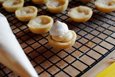 iowagirleats | Mini Banana Cream Pies. Going to try this, but with either homemade banana filling or at the very least store bought banana pudding; don't know why she would use vanilla.