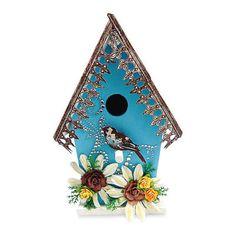 Altered Wooden Birdhouse