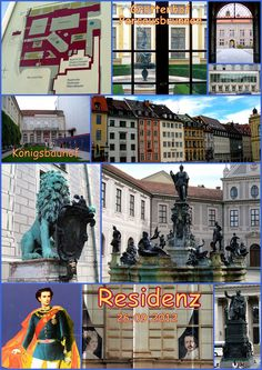 münchner spaziergänge: Karl von Fischer und die Residenz
