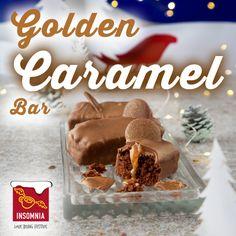 Golden Caramel Bar Caramel Bars, Insomnia, Brewing, Product Launch, Desserts, Christmas, Food, Tailgate Desserts, Xmas