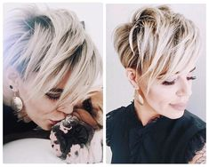 Women Hairstyles Straight In love with this gorgeous pixie. Fabulous shadow root gives this pixie a lot of texture and life. you rock it! Short Thin Hair, Short Hair Cuts, Short Hair Styles, Hair Styles 2016, Pixie Cuts, Short Pixie Haircuts, Cute Hairstyles For Short Hair, Pixie Hairstyles, Gorgeous Hairstyles