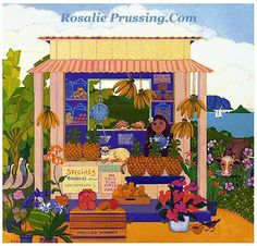 Love this one because it depicts the windward side of Oahu, notice Chinaman's Hat in the background.
