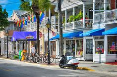 """# 42 Shop on Duval Street in Key West while husband reads a good book. Bring """"rest and roll"""" along."""