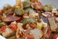 Lauren's Menu: Chicken and Sausage Jambalaya