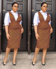 Latest Ankara Dungarees And Pinafore Dress For Women ~ AfroFashionStyle Source by thickyt fashion dress Short African Dresses, African Print Dresses, African Fashion Ankara, Latest African Fashion Dresses, South African Traditional Dresses, Shweshwe Dresses, Dress Attire, African Attire, Latest Ankara