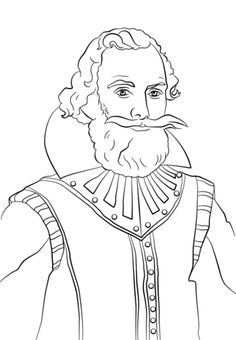 ponce de leon coloring page see more john smith coloring page