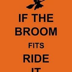 If the Broom Fits Ride It {printable}