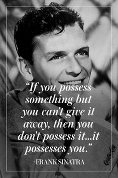 The Man, The Myth, The Legend: 10 of Our Favorite Frank Sinatra Quotes - TownandCountryMag.com