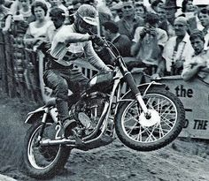 Bill Nilsson did all of the work himself and then used the homemade bike to win the 1957 FIM 500 World Championship.""