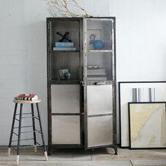 antique finish cabinet | west elm | $1,999