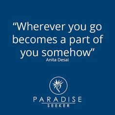 Travel quote of the week  #paradiseseeker #luxurytravel #travel #destination #resorts #luxe #launching #travelbloggers #ocean #water #adventure #photographer #travelphotos #travelquotes #wisdom #inspiration by paradiseseekerguide