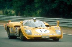 Ecurie Francorchamps' Ferrari 512S at Le Mans in 1970. Credit: AMA