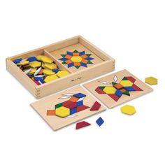 """לקטבע - **מבצע ט""""ו בשבט**משחק התאמת צורות גיאומטריות מעץ מבית Mellisa"""