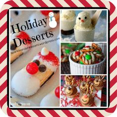 Check out these cute Christmas desserts - recipes included - on Sparkle and Shine: http://sparkleandshinesami.wordpress.com/2013/12/04/holiday-dessert-ideas/