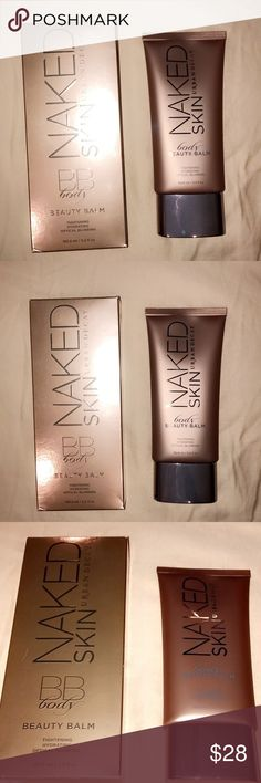 Urban decay Naked body BB CREAM Never been used still sealed great for the body looks amazing on the skin very glowy looking skin big size bottle Urban Decay Makeup Foundation