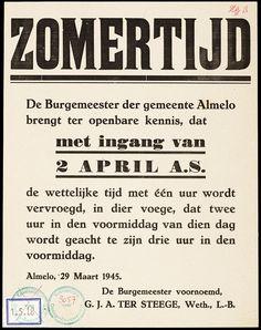 Almelo, 1945