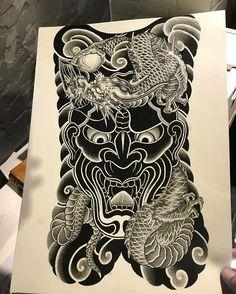 "Vu Ngoc Tan trên Instagram: ""✍🏿 #Proteam #worldtattooevents #radiantcolorsink #garungtattoo #vungoctan #t2needlecartridges @worldtattooevents @radiantcolorsink…"" Black White Tattoos, Black Ink Tattoos, Leg Tattoos, Body Art Tattoos, Japanese Tattoo Art, Japanese Tattoo Designs, Japanese Sleeve Tattoos, Dragon Tattoo Full Back, Chest And Back Tattoo"