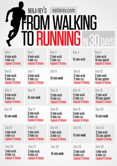 Walking to Running in 30 Days Get FIT! Be FAB! Have FUN!