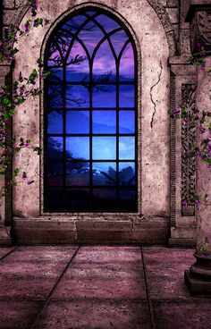 Stained Glass Window - Isn't this what we wish to envision with every dusk or dawn, before the sky is ablaze with oranges and reds? Stained Glass Patterns, Stained Glass Art, Stained Glass Windows, Mosaic Glass, Church Windows, Windows And Doors, Window View, Art Mural, Leaded Glass