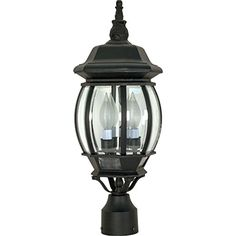 Nuvo Lighting 60/899 Three Light Post Lantern * You can find more details by visiting the image link. (This is an affiliate link) #LightingCeilingFans