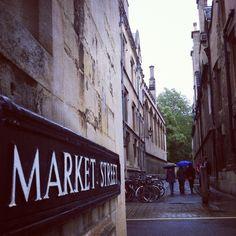 Market St, Oxford