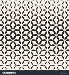 Vector Seamless Pattern. Modern Stylish Texture. Repeating Abstract Background. Triangular Elements Form Hexagonal Grid. - 455545975 : Shutterstock