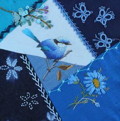 Heather B, Canada Silk ribbon embroidery; sashiko?; and are those butterflies tatted? I think so...! all doe really well! http://1.bp.blogspot.com/-_-4K-COMcWk/UXQC2LXkjNI/AAAAAAAAOcg/_omsCn0KZ8s/s1600/Heather+B.,+Canada,+Apr.jpg
