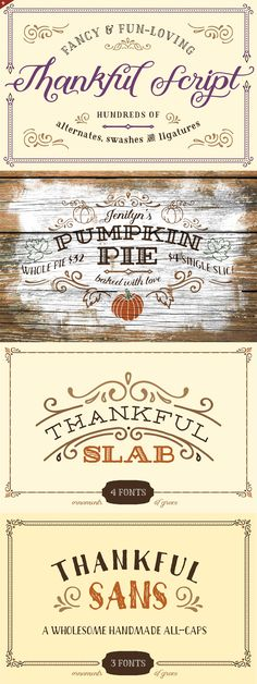 Thankful Complete by Ornaments of Grace on @creativemarket