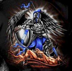 Resultado de imagen de archangel tattoo designs