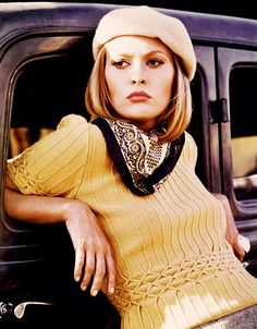 From+Annie+Hall+to+Amelie,+A+Retrospective+of+Iconic+Movie+Characters+via+@WhoWhatWear Iconic Movie Characters, Movie Character Costumes, Iconic Movies, Movie Costumes, Halloween Costumes, Halloween Ideas, Happy Halloween, Bonnie Parker, Bonnie N Clyde