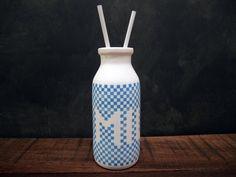 Blue Milk Bottle