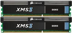 Corsair XMS3 8 GB (2 x 4GB) 1333 MHz PC3-10666 240-Pin DDR3 Memory Kit CMX8GX3M2A1333C9