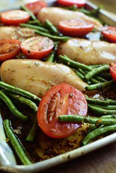 Italian Chicken Sheet Pan Supper | The Pioneer Woman