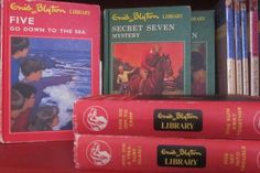 Vintage set of Famous Five and Secret Seven 2in1 books - great thrift shop find! Kids love them.   @lovedecorateletters