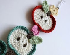crochet... would make a cute magnet for gifts for teachers!