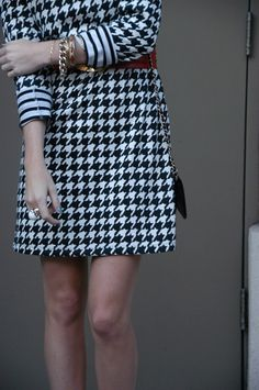 houndstooth dress... its mineeeeee
