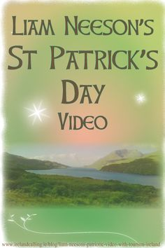 Hollywood star Liam Neeson has teamed up with Tourism Ireland to produce a promotional St Patrick's Day video.