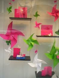 mothers day window displays