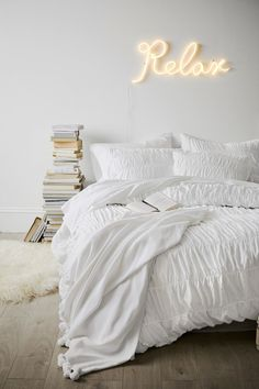 Monochromatic Vibes The Emily Meritt Relax Neon Light Lamp