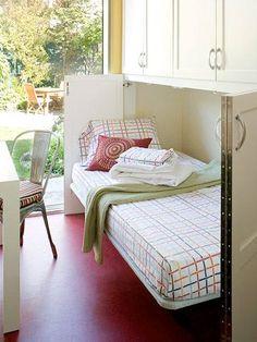 hidden bed????