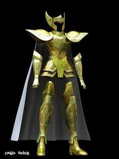 ¡Deja de imaginar cómo serían las armaduras de Saint Seiya en la vida real y…