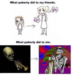Make both skeletons think abt boys n me too